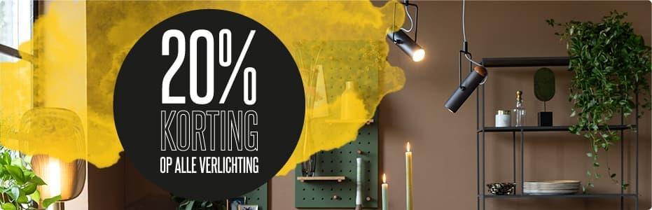 SALE | ZUIVER VERLICHTING - 20% KORTING