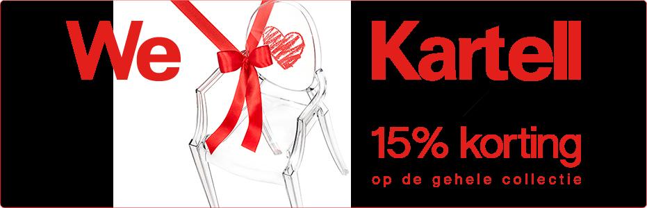 SALE | KARTELL - 15% KORTING