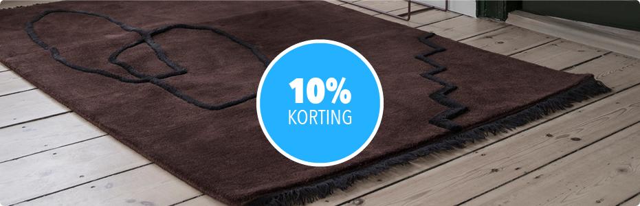 SALE | VLOERKLEDEN - 10% KORTING
