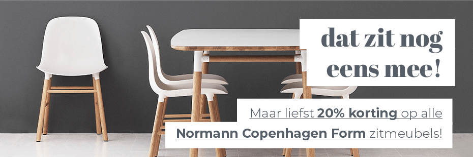 20% KORTING - NORMANN COPENHAGEN FORM SERIES