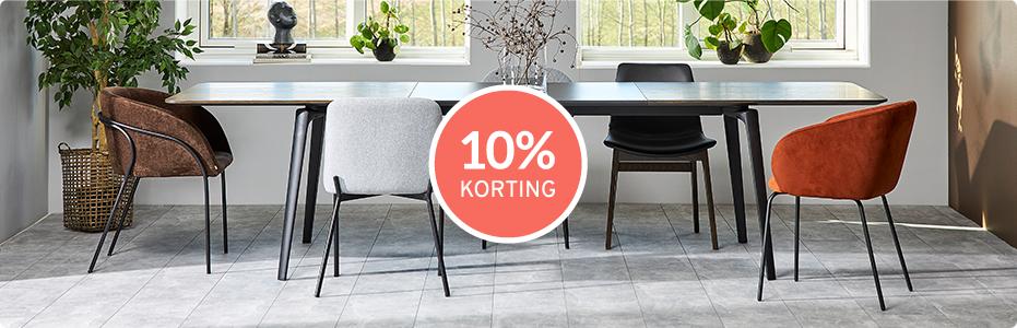 10% KORTING - STOELENACTIE
