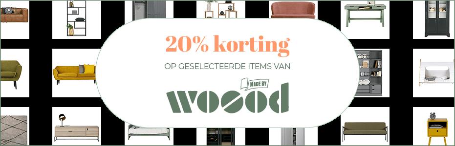 20% KORTING - WOOOD