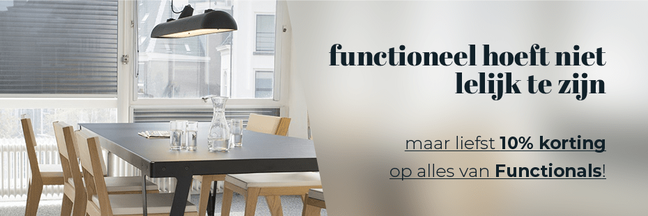 10% KORTING - FUNCTIONALS