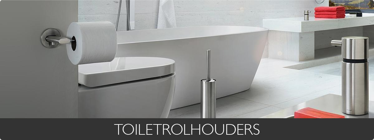TOILETROLHOUDERS