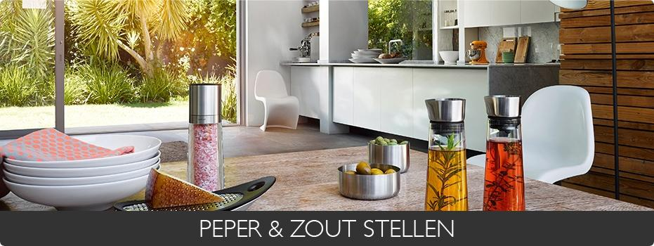 PEPER & ZOUT STELLEN