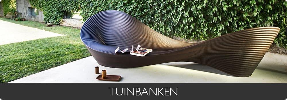 TUINBANKEN - Antraciet