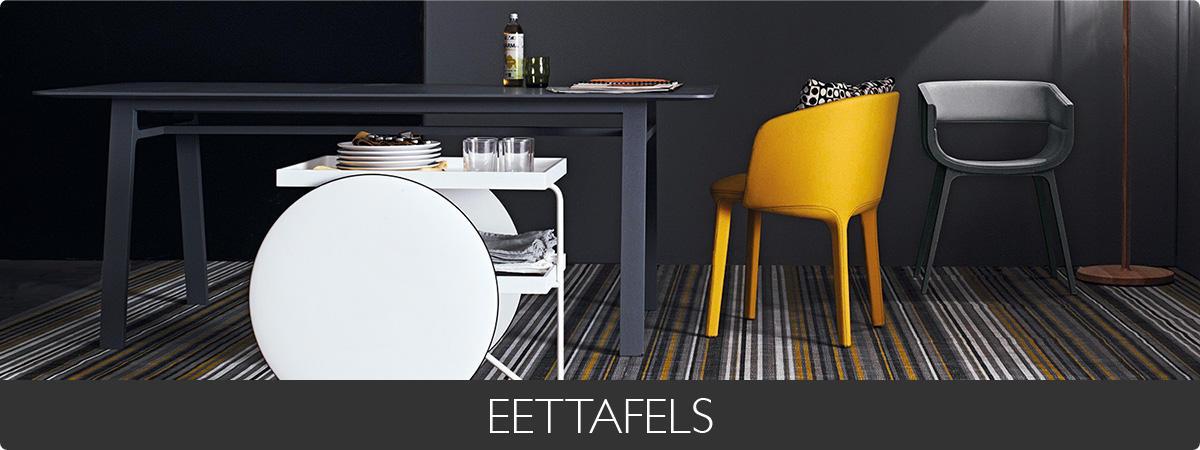 EETTAFELS - Creme wit