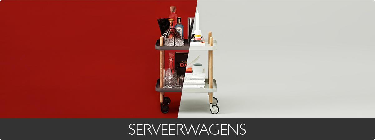 SERVEERWAGENS - Aubergine