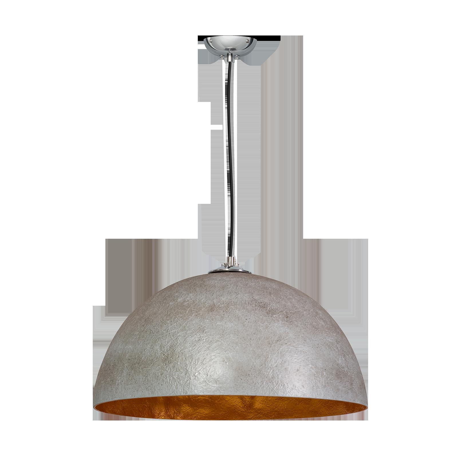 OUTLET - Mezzo Tondo hanglamp ETH betongrijs/goud � 50cm