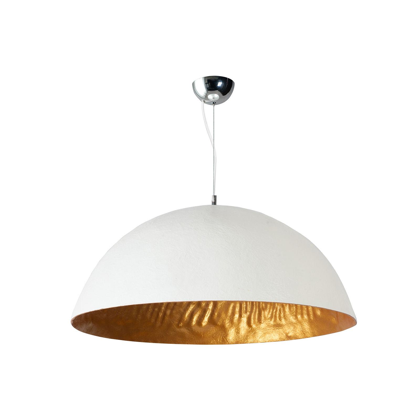 OUTLET - Mezzo Tondo hanglamp ETH wit/goud � 70cm