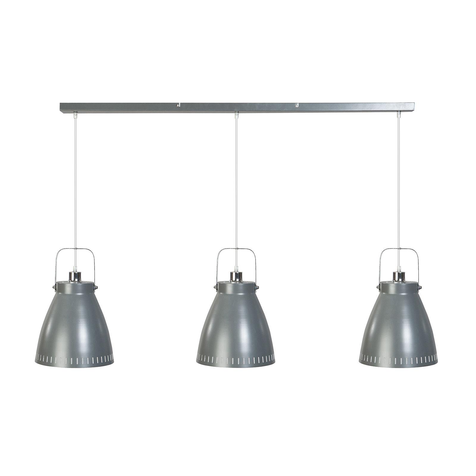 Acate hanglamp ETH chroom - grijs