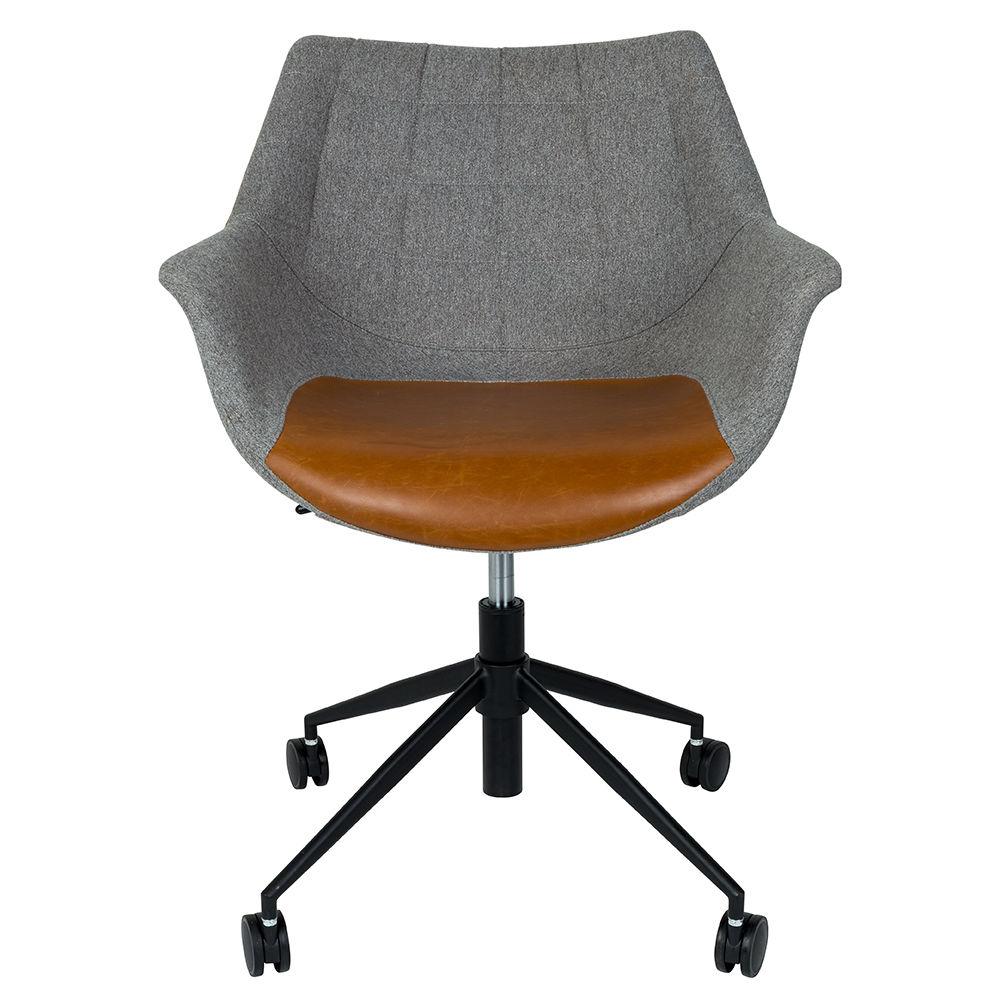 Doulton bureaustoel Zuiver bruin