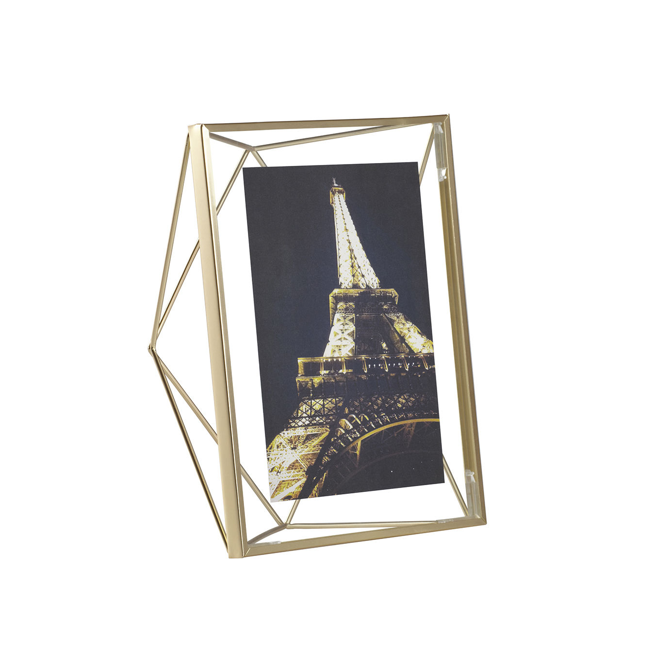 Prisma fotolijst Umbra 18x23cm mat messing