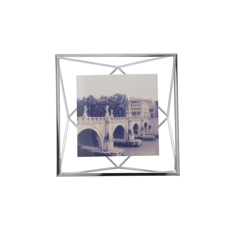 Prisma fotolijst Umbra 15x15cm chroom