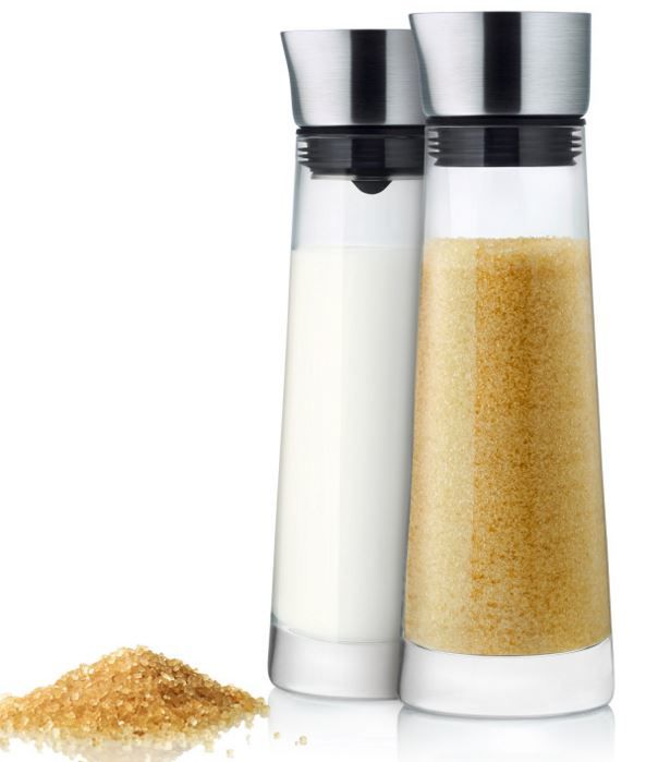 Macchiato suiker en melk set Blomus 150 ml