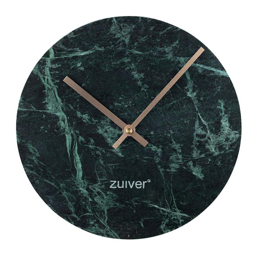 Marble Time klok Zuiver groen