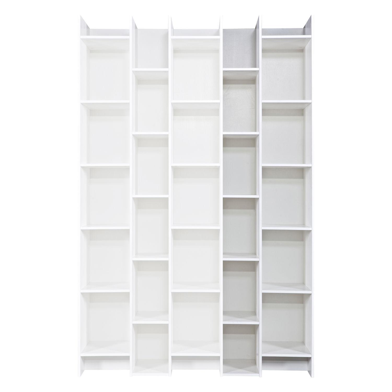 Expand boekenkast Woood uitbreiding wit