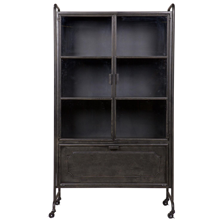 Steel Storage vitrinekast BePureHome