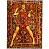 Lady on Carpet vloerkleed Seletti