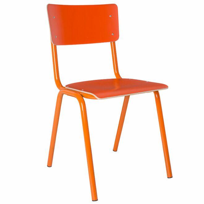 Back to School HPL eetkamerstoel Zuiver oranje