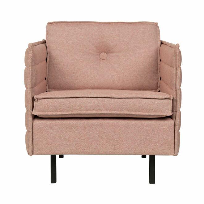 Jaey fauteuil Zuiver zalmroze