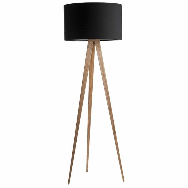 TriPod Wood vloerlamp Zuiver zwart - VERHUIS SALE