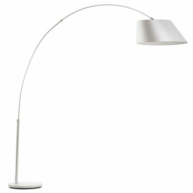 Arc vloerlamp Zuiver wit