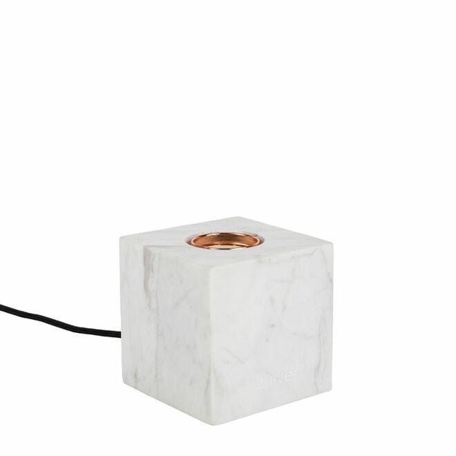 OP = OP - Bolch tafellamp Zuiver marmer wit