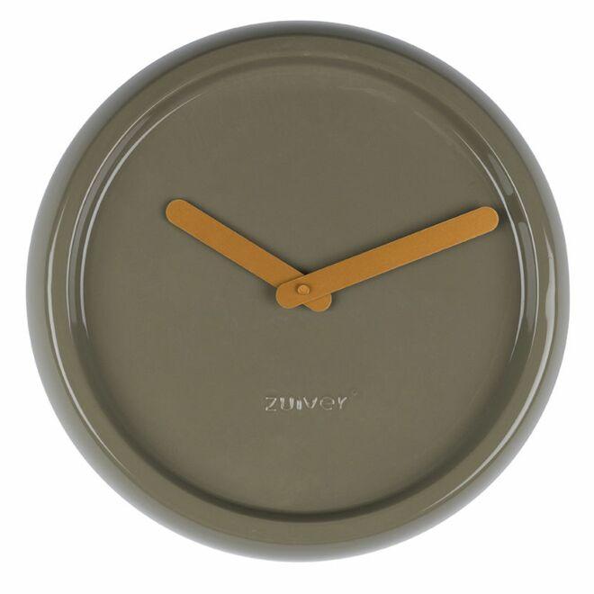 Ceramic Time klok Zuiver groen