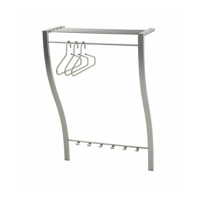 Carve 1 wandkapstok Spinder Design nikkel