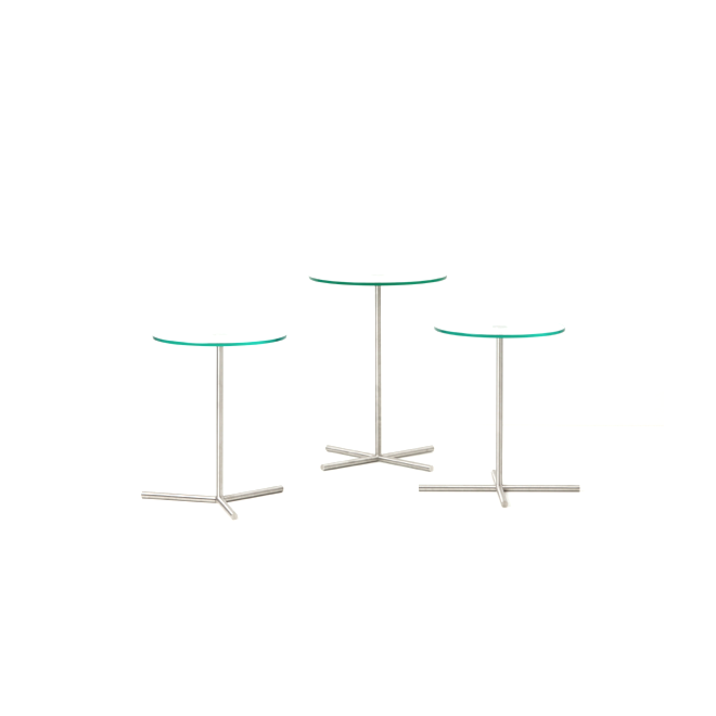 XL Table Cascando rond vier poten