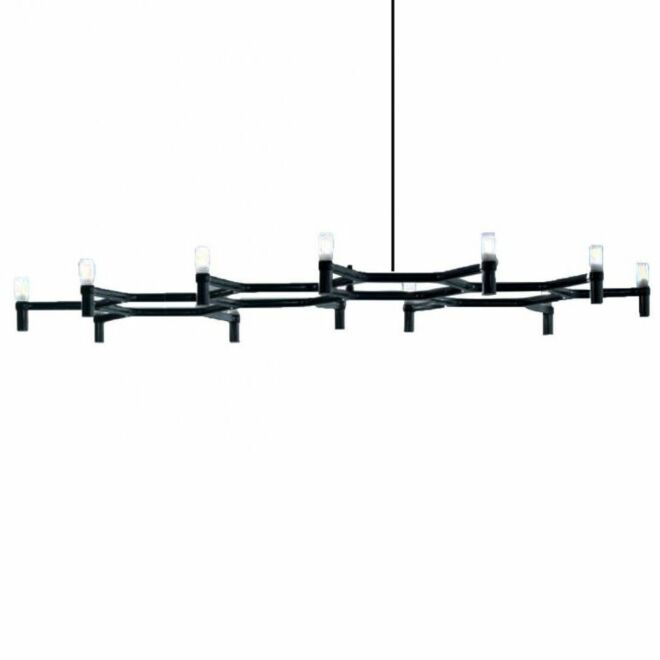 Crown Plana Major hanglamp Nemo zwart