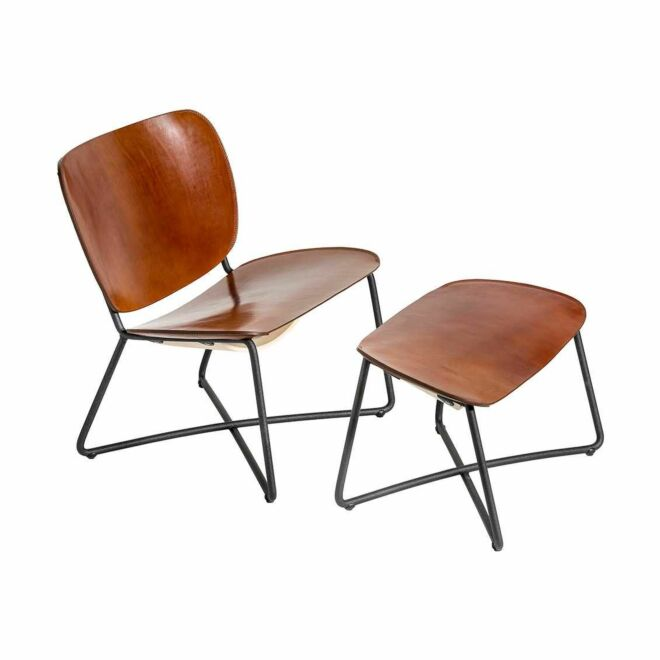 Miller fauteuil Functionals - cognac
