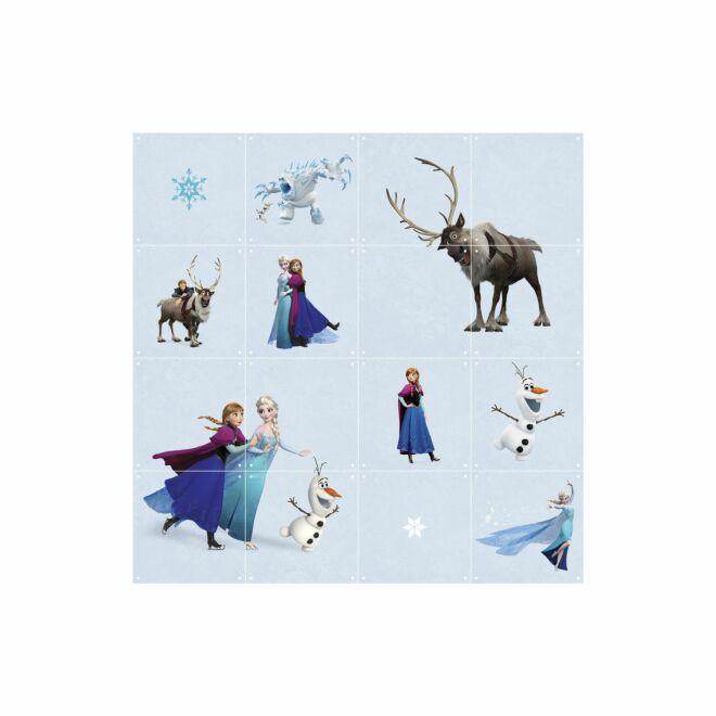 Disney wanddecoratie Ixxi frozen world 80x80cm - VERHUIS SALE