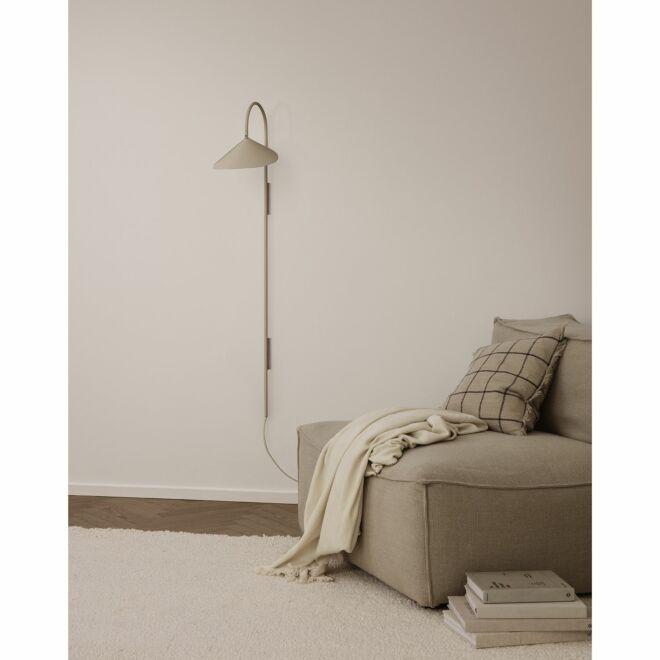 Arum wandlamp tall Ferm Living cashmere