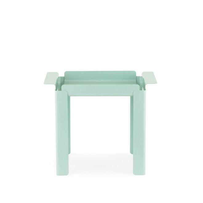 Box bijzettafel Normann Copenhagen klein turquoise