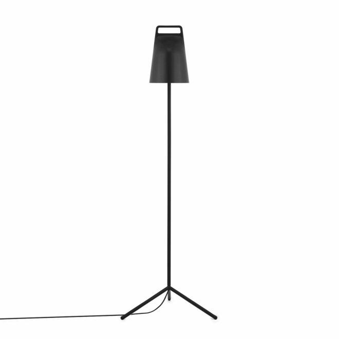 Stage vloerlamp Normann Copenhagen zwart