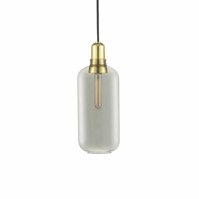 Amp hanglamp Normann Copenhagen groot gerookt messing