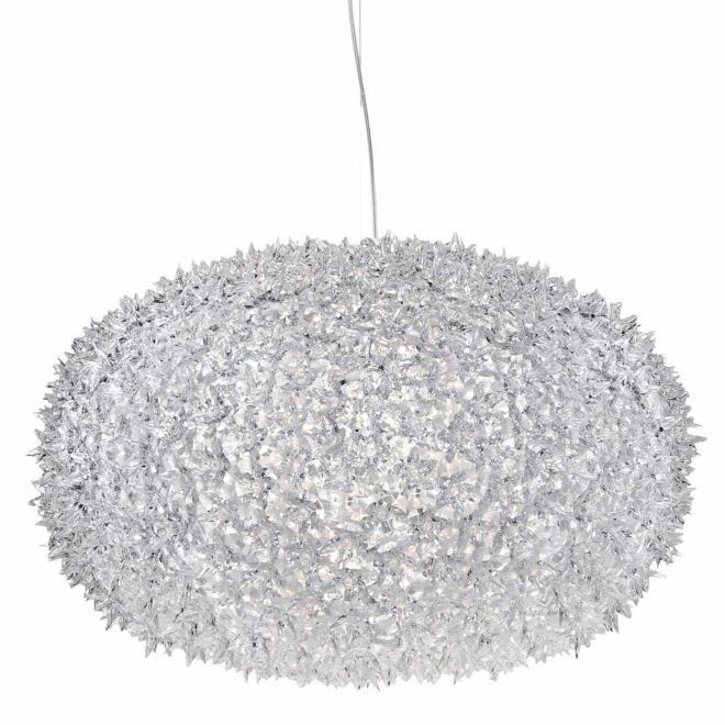 Big Bloom hanglamp Kartell Ø80 kristal