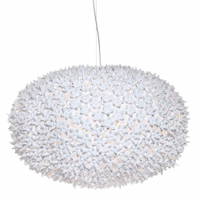 Big Bloom hanglamp Kartell Ø80 wit