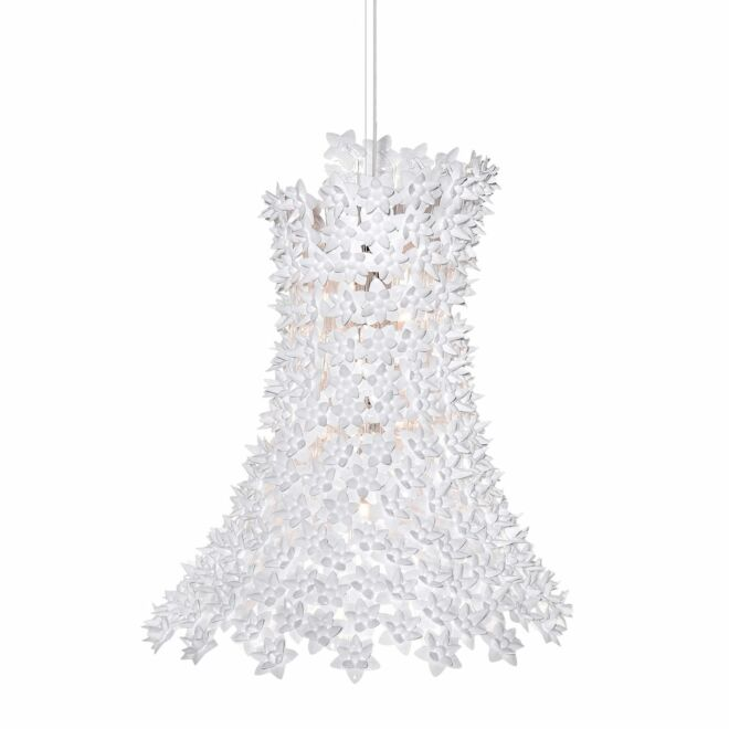 Bloom hanglamp Kartell wit