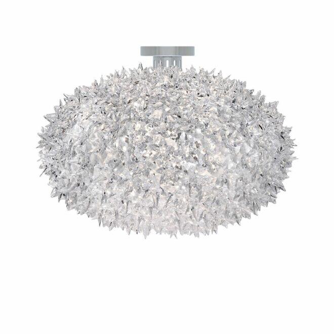 Bloom plafondlamp Kartell kristal
