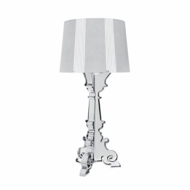 Bourgie tafellamp Kartell chroom