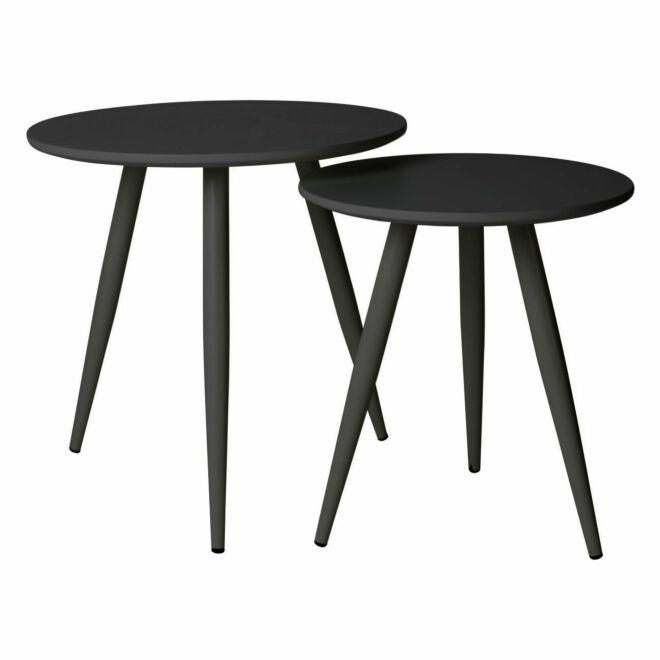 Daven salontafel set Luzo zwart
