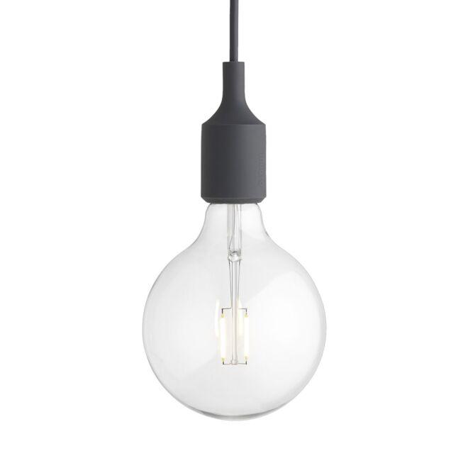 E27 hanglamp Muuto LED - donkergrijs - VERHUIS SALE