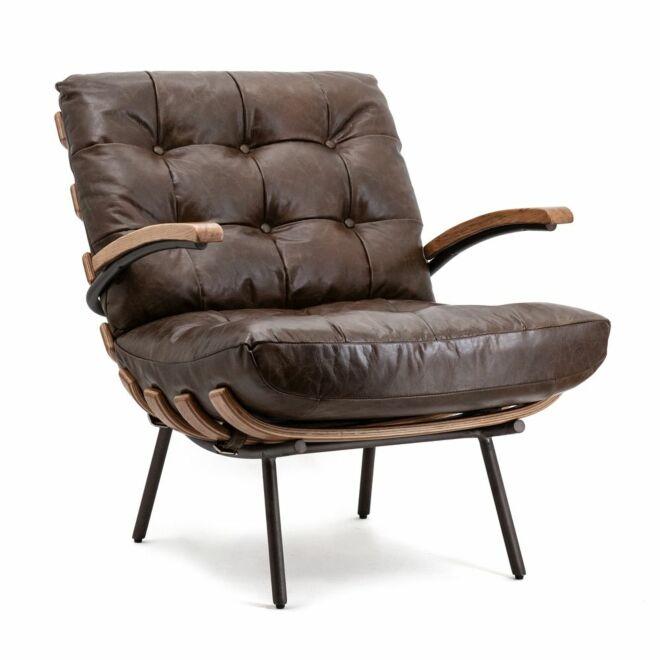 Bastiaan fauteuil Eleonora donkerbruin