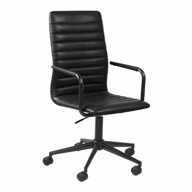 Fazd bureaustoel Liv zwart