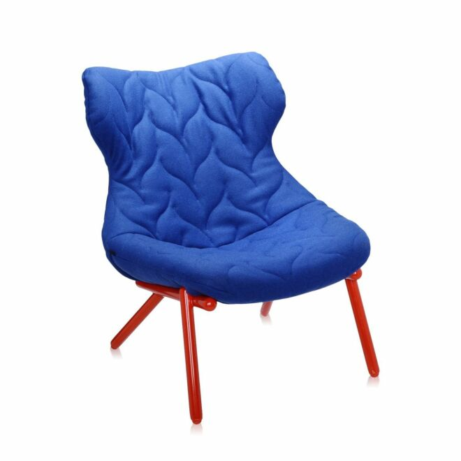OUTLET - Foliage fauteuil Kartell rood - blauw