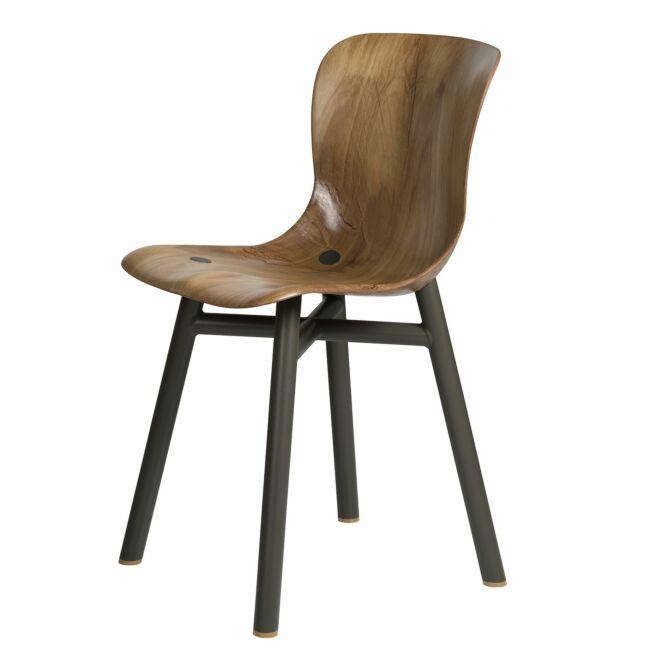 Wendela stoel Functionals lichte zitting - zwart