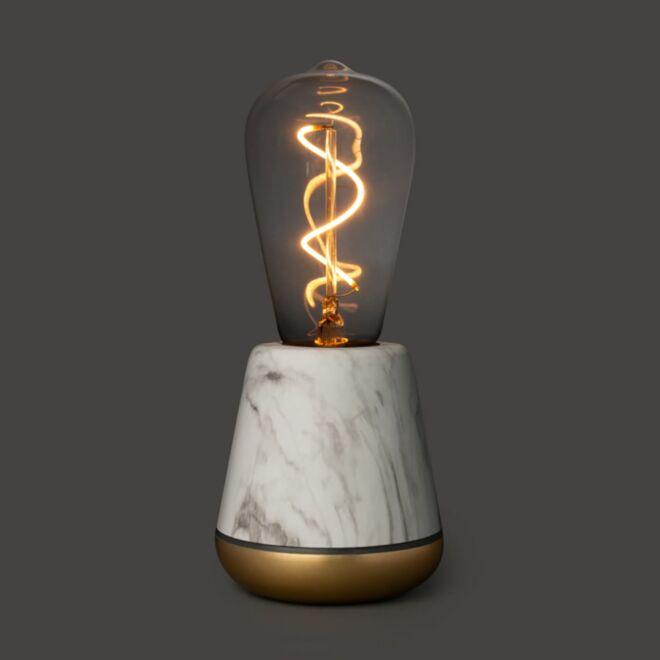 Humble tafellamp wit marmer